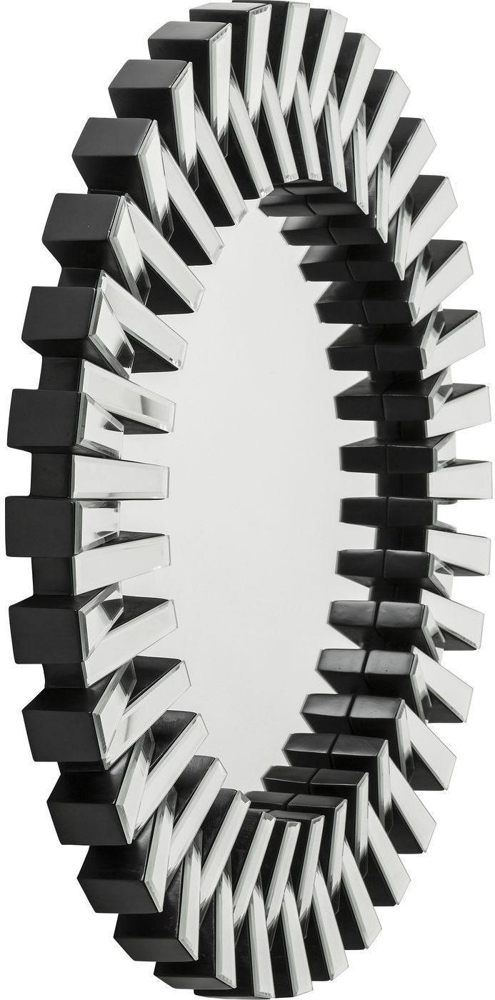 kare design spiegel sprocket 92 cm incl 2 haken. Black Bedroom Furniture Sets. Home Design Ideas